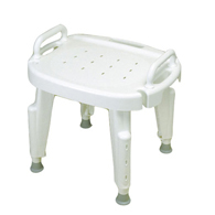Ableware 727142020 Adjustable Shower Seat with Arms