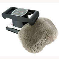 Core 3401 Jeanie Rub Variable Speed Massager w/ Sheep Skin Cover