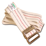 Essential Medical Supply Woven Gait Belts with Metal Buckle