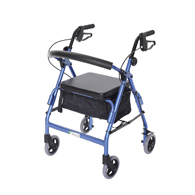 Essential Medical W1660 Featherlight Demi Walker-Hand Brakes