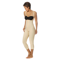 Marena Recovery SFBHM Mid-Calf-Length Girdle with High-Back