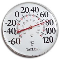 "Taylor 49562 12"" Analog Thermometer"
